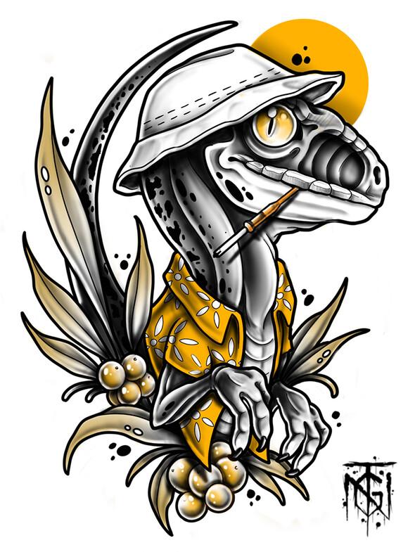 Tommy GTN artiste tatoueur