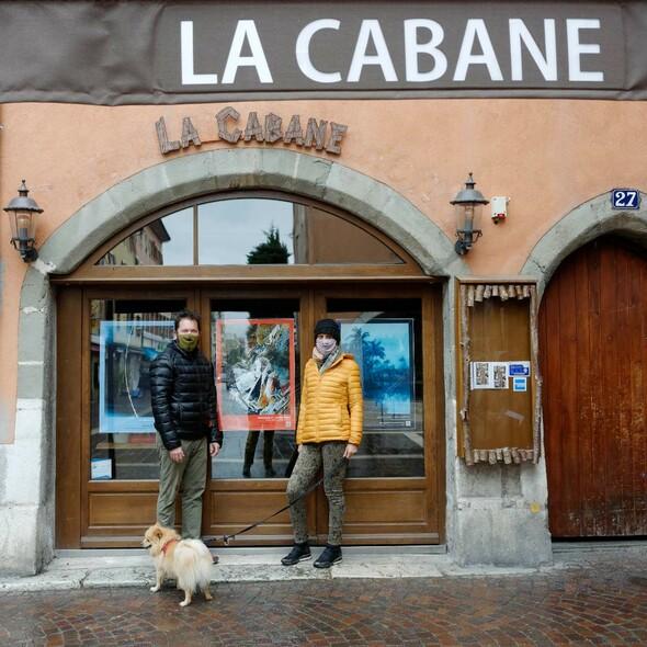 « L'Art s'affiche » sur les bars et restaurants d'Annecy