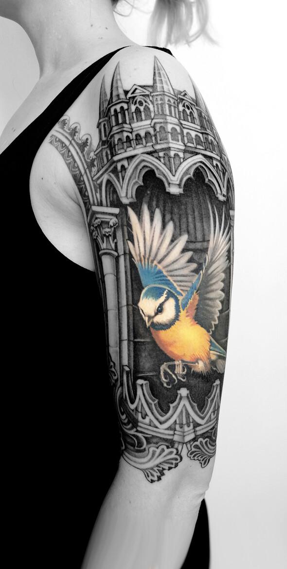 Tehel, artiste tatoueur