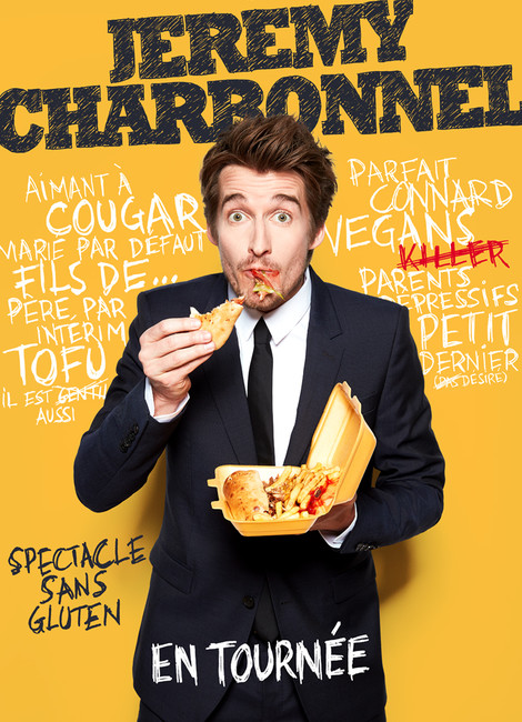 """JEREMY CHARBONNEL - """"Spectacle sans gluten"""""""