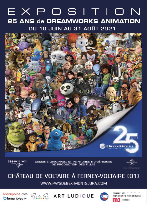 25 ans DreamWorks animation