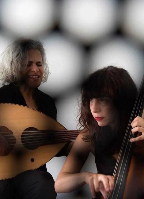 Sarah Murcia & Kamilya Jubran