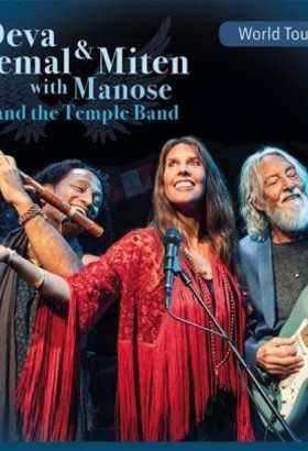 Deva Premal & Miten with Manose and the Temple Band - World Tour 2020